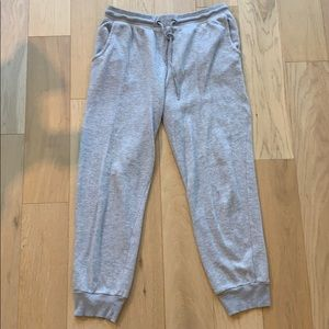 Derek heart grey sweatpants / joggers